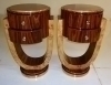 pair of special Art Deco side tables commodes coffee