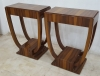 Amazing Pair Art Deco style side tables Desks consoles