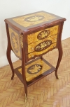 7 WEEKS Art Deco VANITY MARQUETRY COMMODE