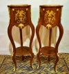 In 4 Weeks Pair Louis XV style side tables commodes