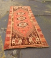 large Hand-Knotted Wool Rug Persian Design