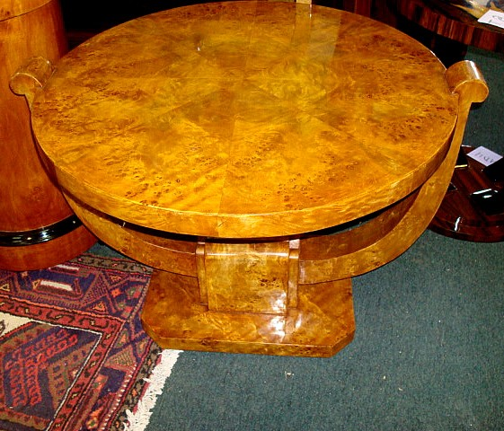 Phenomenal Classic Art Deco Style coffee table
