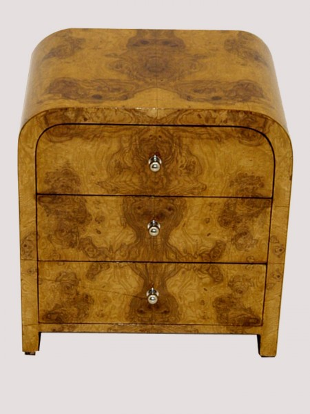 TO DIE FOR!! PAIR OF Art Deco style side commode